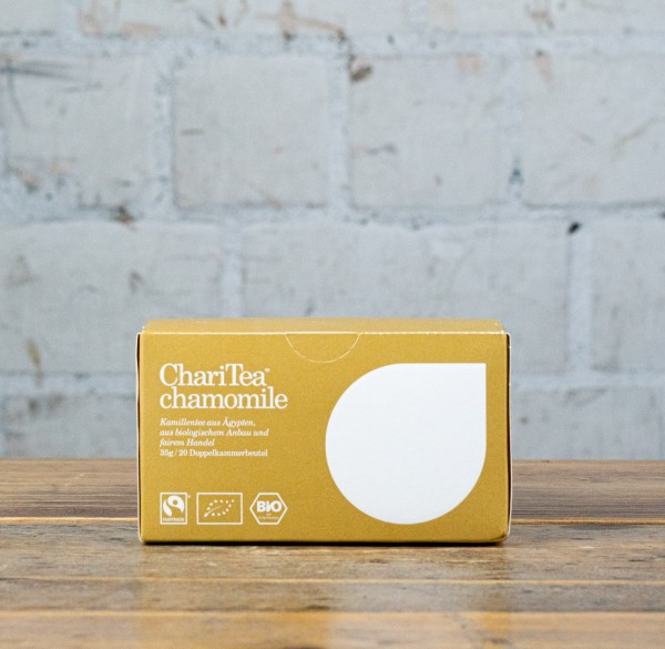 ChariTea chamomile Doppelkammerbeutel 20 x 1,75g