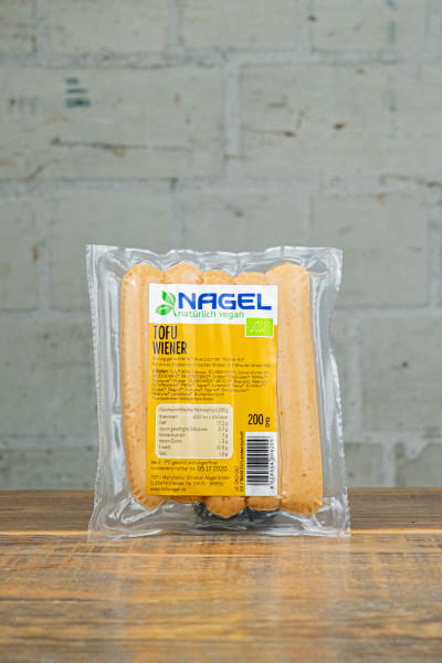 "Nagel Tofuwürstchen ""Wiener Art"" - würzig geräuchert"