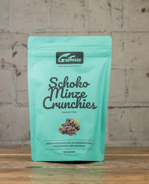 Gartmann Schoko Minze Crunchies Zartbitter
