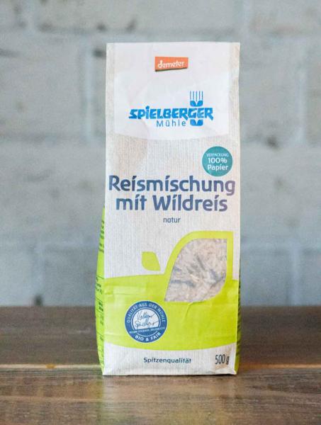 Spielberger Mühle Reismischung mit Wildreis