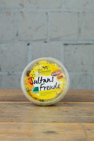 Hof Butendiek Sultans Freude - Frischkäsezubereitung