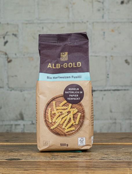 Alb-Gold Bio Hartweizen Fusilli