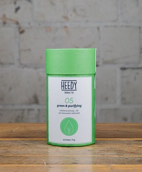 HEEDY No 05 green & purifying - Grüntee