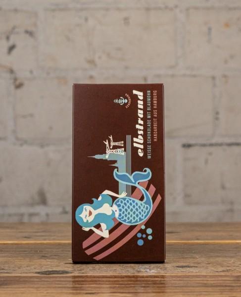 Schokovida Elbstrand Weisse Schokolade mit Blaumohn