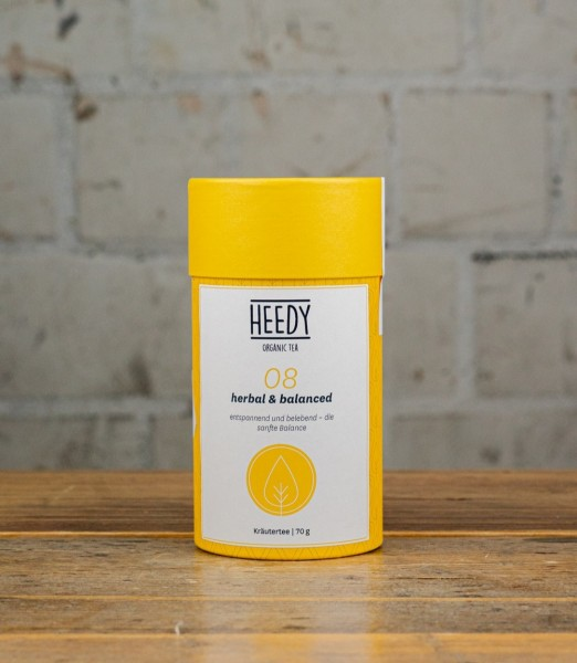 HEEDY No 08 herbal & balanced - Kräutertee