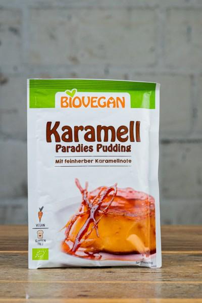 Biovegan Karamell Paradies Pudding