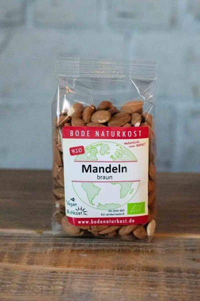 Bode Naturkost Bio-Mandeln braun