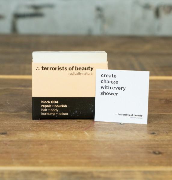 Terrorists of Beauty Blockseife 004 repair + nourish