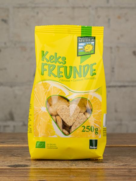 Bohlsener Mühle Keks Freunde Zitrone