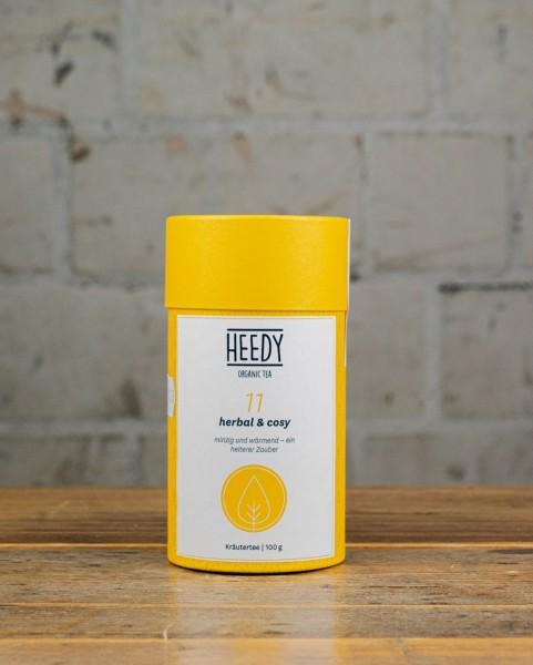 HEEDY No 11 herbal & cosy - Kräutertee