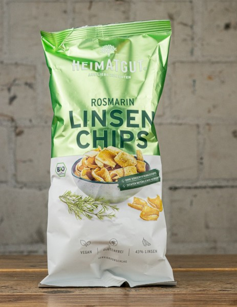 Heimatgut Rosmarin Linsen Chips