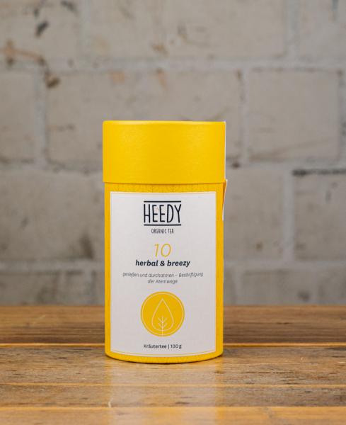HEEDY No 10 herbal & breezy - Kräutertee