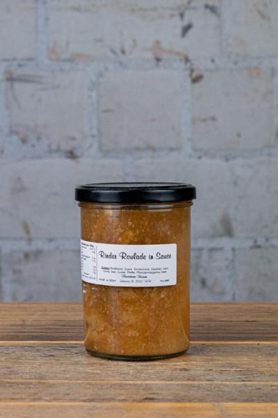Fleischerei Harms Rinder Roulade in Sauce