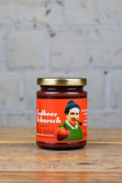 Schokovida Erdbeer Schorsch Fruchtaufstrich mit weißer Schokolade