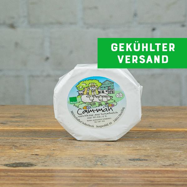 Solterbeck Cam-mäh Weichkäse aus Schafmilch