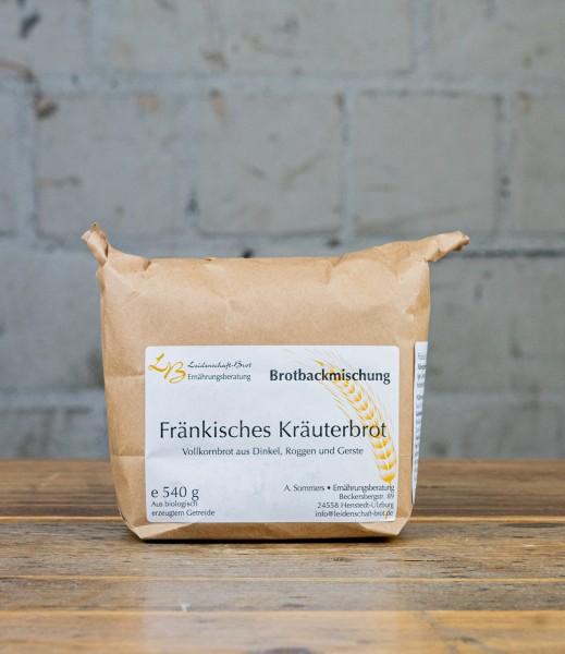 Leidenschaft-Brot Brotbackmischung Fränkisches Kräuterbrot