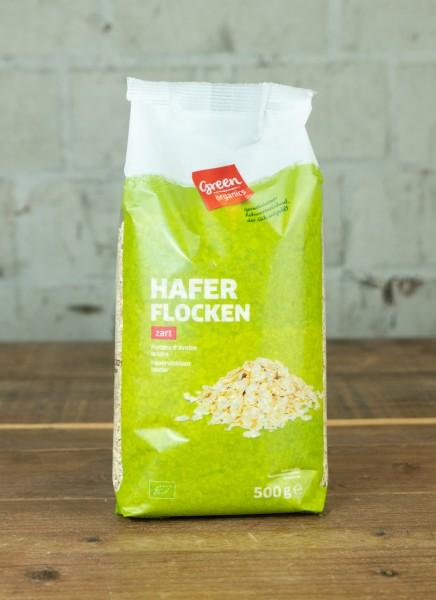 green organics Haferflocken zart