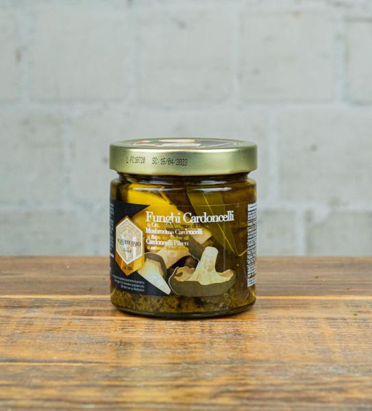 Mastrototaro - Cardoncelli Pilze in nativem Olivenöl extra