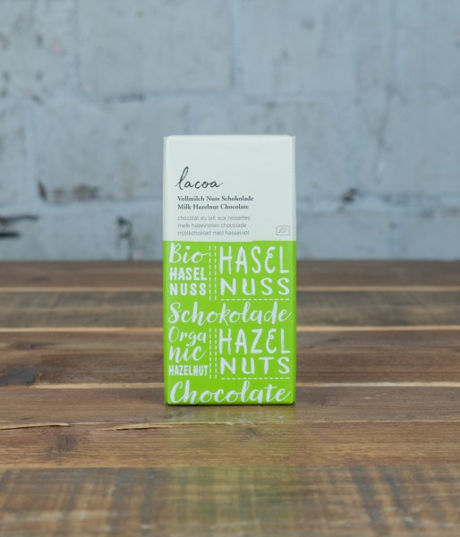 Lacoa Vollmilch Nuss Schokolade