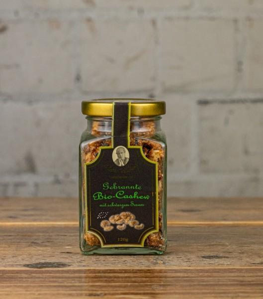 Hamburger-Goldmandeln Bio-Cashews gebrannt
