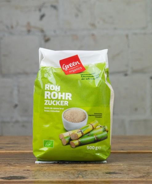 green organics Roh-Rohrzucker