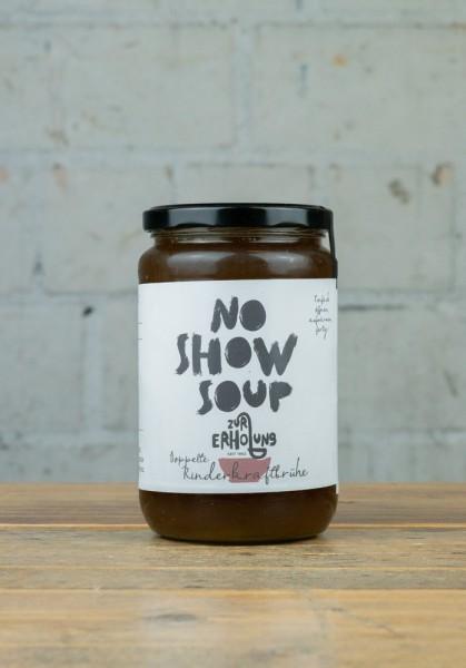 No Show Soup Doppelte Rinderkraftbrühe