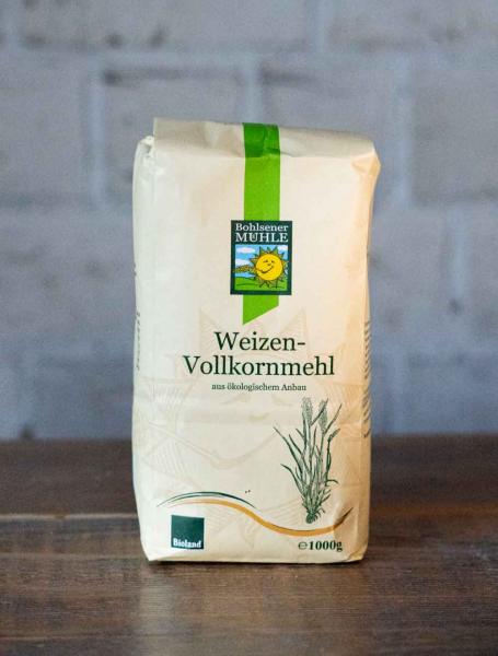 Bohlsener Mühle Weizen-Vollkornmehl