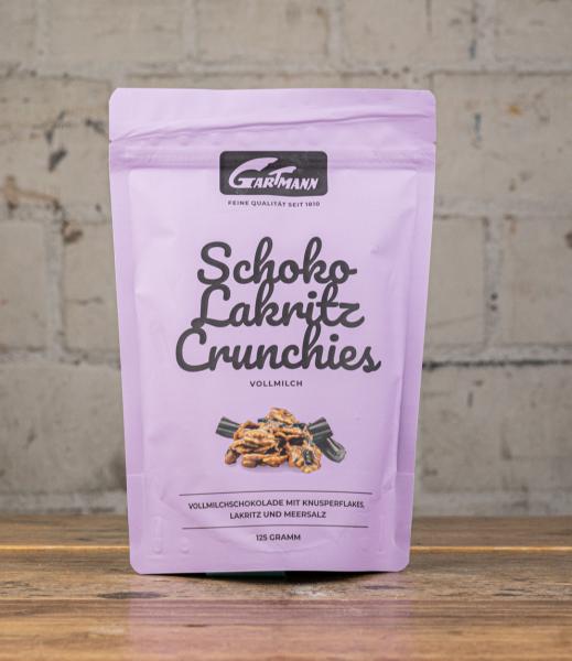 Gartmann Schoko Lakritz Crunchies Vollmilch