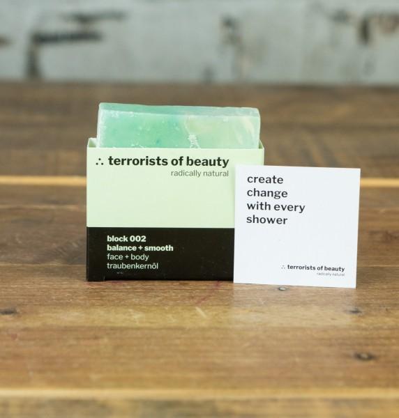 Terrorists Of Beauty Blockseife 002 balance + smooth