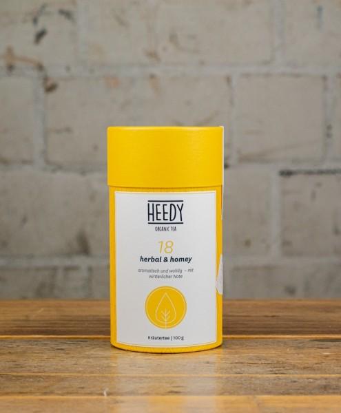 HEEDY No 18 herbal & homey - Kräutertee