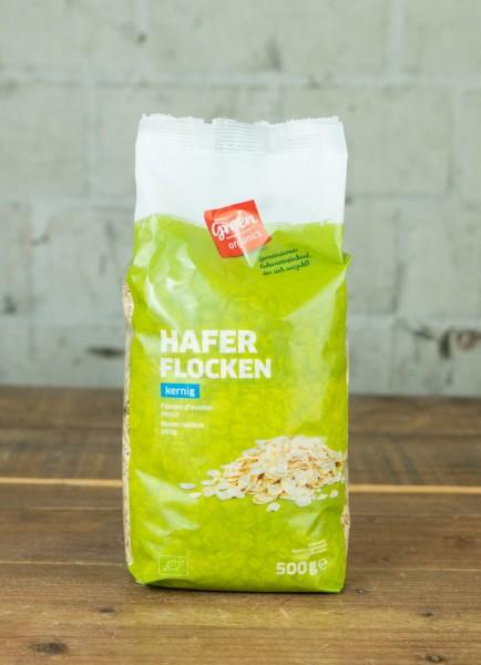 green organics Haferflocken kernig