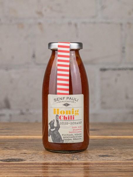 Senf Pauli Soße Honig Chili, süß & scharf
