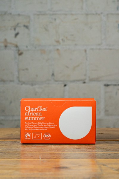 ChariTea african summer Doppelkammerbeutel 20 x 2g