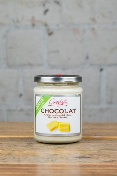 Grashoff Chocolat - Crème de chocolat blanc der pure Genuss