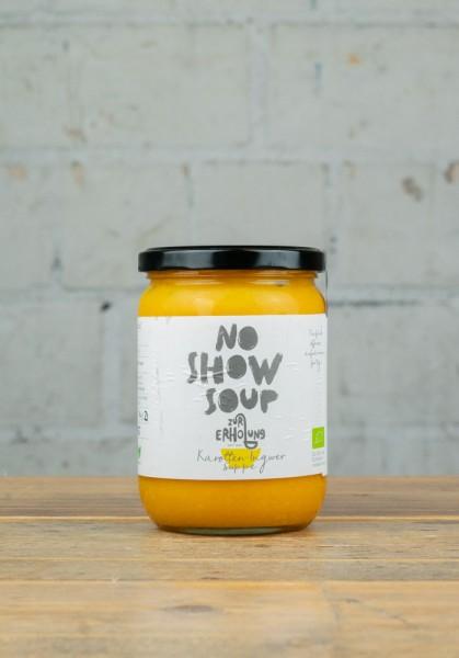 No Show Soup Karotten-Ingwer-Suppe