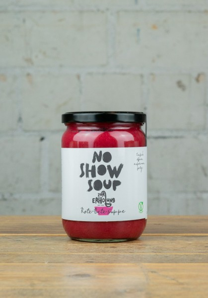 No Show Soup Rote-Bete-Suppe