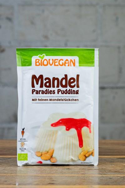 Biovegan Mandel Paradies Pudding